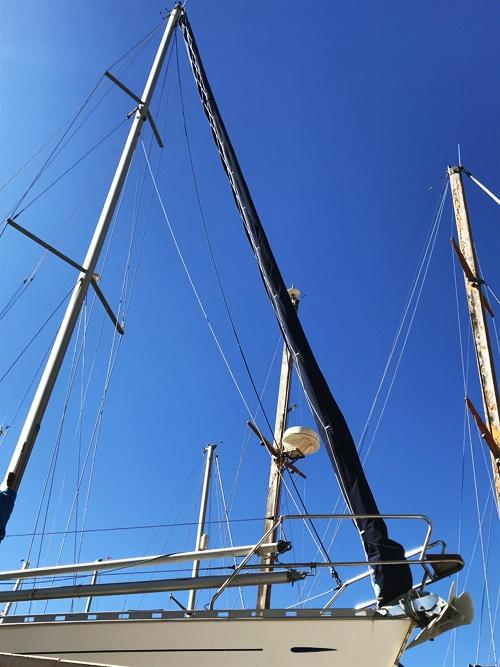 Funda de Génova Enrollable para Crucero